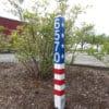 Flagpost 002
